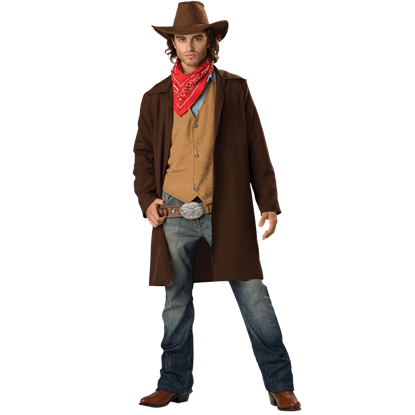 Rawhide Renegade Men's Costume