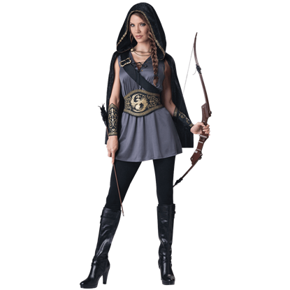 Dark Huntress Women's Costume