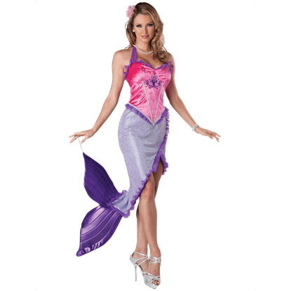 Womens Beautiful Mermaid Costume