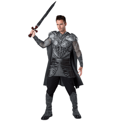 Dark Medieval Knight Adult Costume