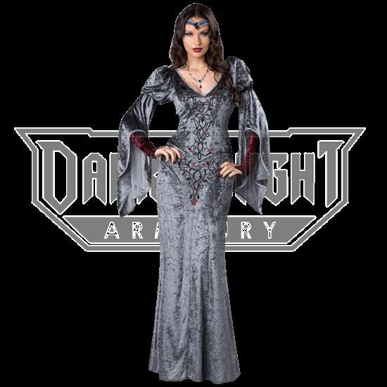 Dark Medieval Maiden Costume