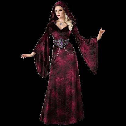 Dark Realm Sorceress Costume Dress