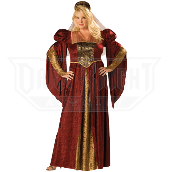 17f5e6eba5f Renaissance Maiden Women s Plus Size Costume - IN-15003 from Leather Armor