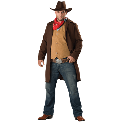 Rawhide Renegade Men's Plus Size Costume