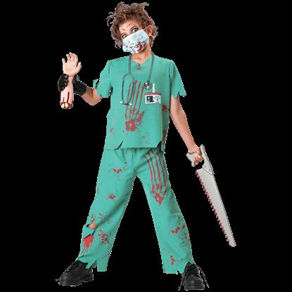 Dr. N. Sane Boy's Costume
