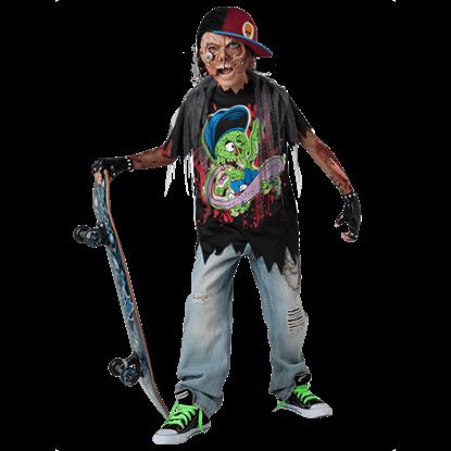 Boys Zombie Sk8r Costume