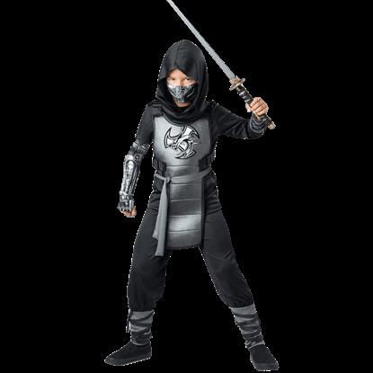 Combat Ninja Child Costume