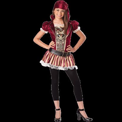 Swashbucklin' Sass Tween Costume