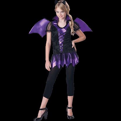 Bat Reputation Tween Costume