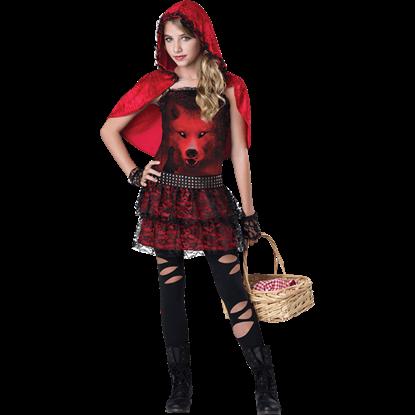 Red In The Hood Tween Costume