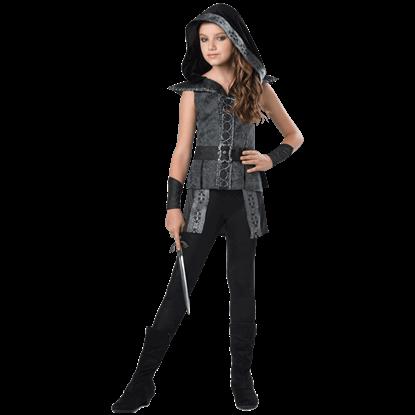 Dark Woods Huntress Tween Costume