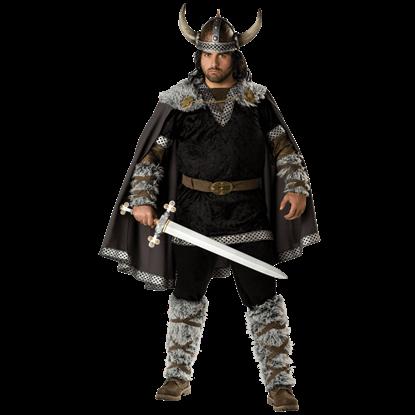 Viking Warrior Men's Plus Size Costume