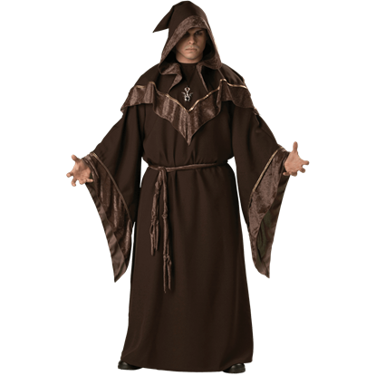 Mystic Sorcerer Men's Plus Size Costume