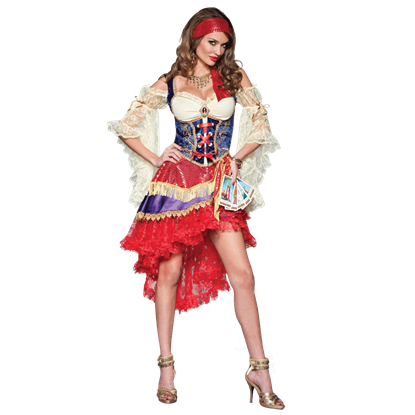 Good Fortune Womens Costume