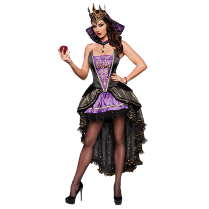 Alluring Evil Queen Womens Costume