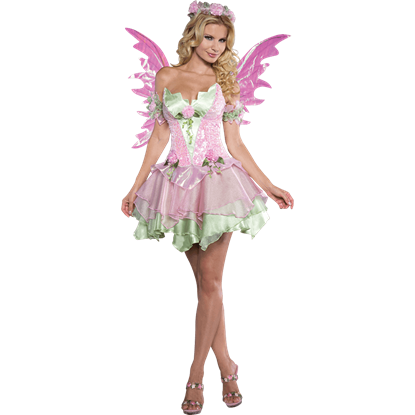 Womens Flirtatious Fairy Costume