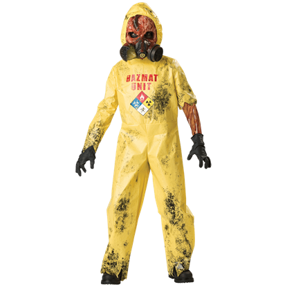 Hazmat Hazard Boy's Costume
