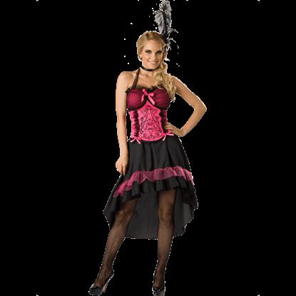 Womens Saloon Gal Costume