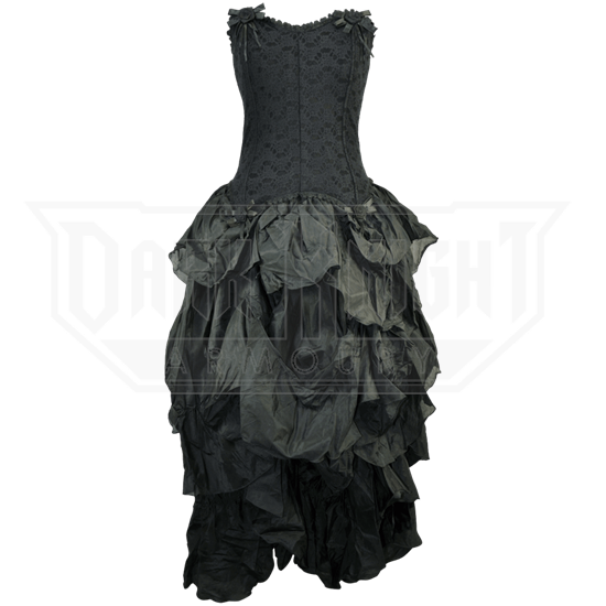 7e9c6cb122 Gothic Corset Dress with Full Skirt - JD-0003 from Leather Armor ...