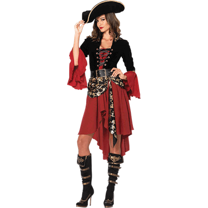Cruel Seas Captain Costume Dress