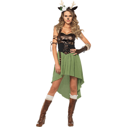 Womens Dark Forest Fawn Costume