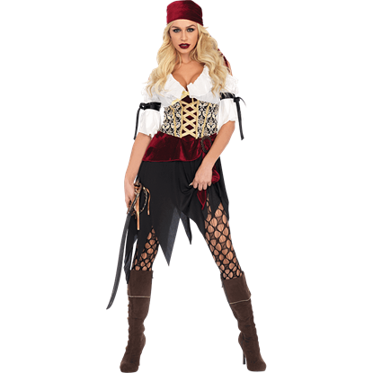 Womens High Seas Wench Costume