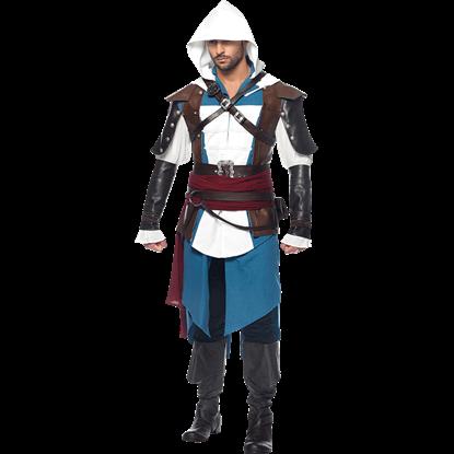 Mens Assassins Creed Edward Costume