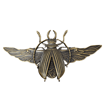 Mechanique Beetle Brooch