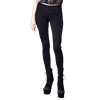 Black Lace Adorned Womens Pants