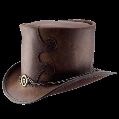 Clockwork Curio Steampunk Top Hat