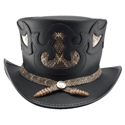 Rio Topper Snakeskin Top Hat