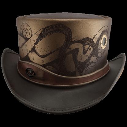 Kraken Steampunk Top Hat