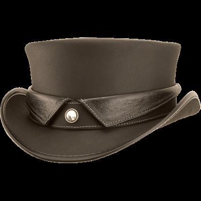 Collared Marlow Steampunk Hat