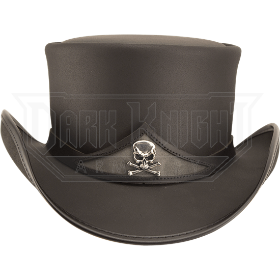 Gothic Pale Rider Top Hat