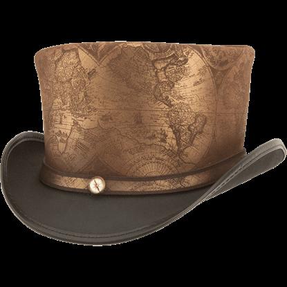 Hatlas Steampunk Top Hat