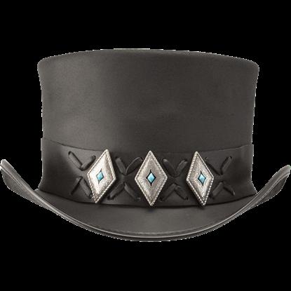 Lace Concho El Dorado Hat