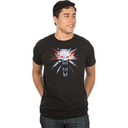 Mens Premium Witcher 3 Medallion T-Shirt