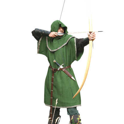 Archers Over Tunic with Hood