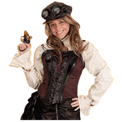 Womens Steampunk Engineer Top