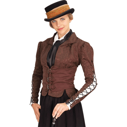 Brown Winchester Corset Coat