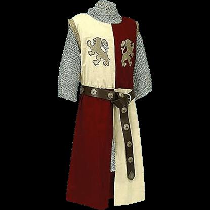 Rampant Lion Baron Surcoat