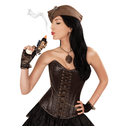 Steampunk Abigale Overbust Corset