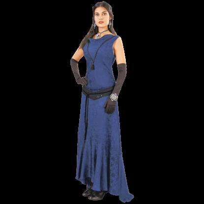 Blue Hellfire Gown