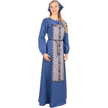 Asta Blue Viking Dress