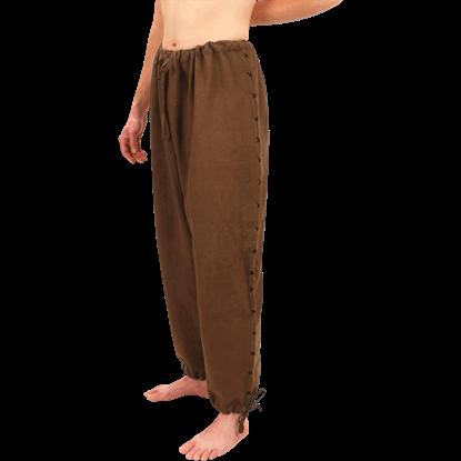 Mens Handwoven Drawstring Pants