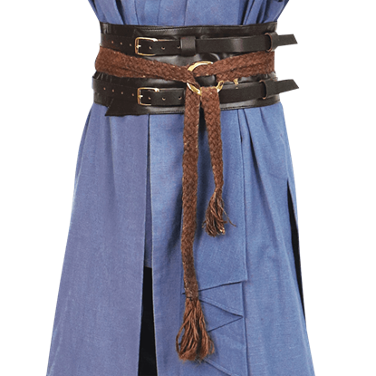 Mystic Leather and Hemp Belts