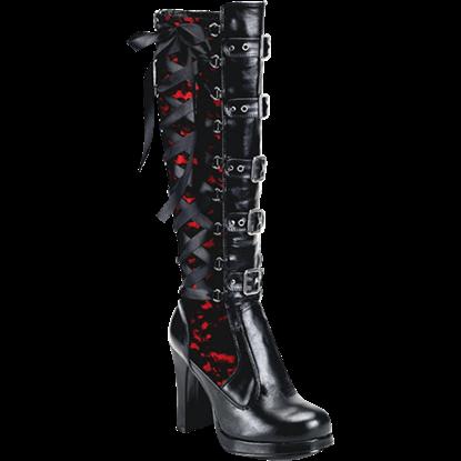 Black Widow Gothic Boots