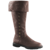 Buttoned Pirate Boots
