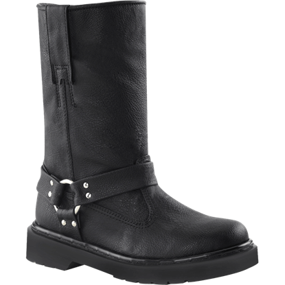 Womens Harness Strap Boots