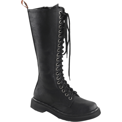 Womens Extra Tall Combat Boots